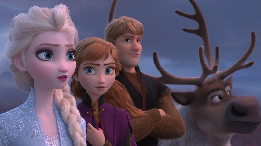 """Elsa, Anna, Kristoff und Rentier Sven in """"Die Eiskönigin 2"""""""
