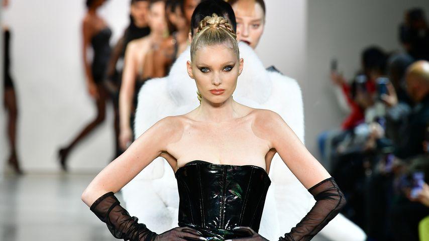 Elsa Hosk bei der New York Fashion Week im Februar 2020