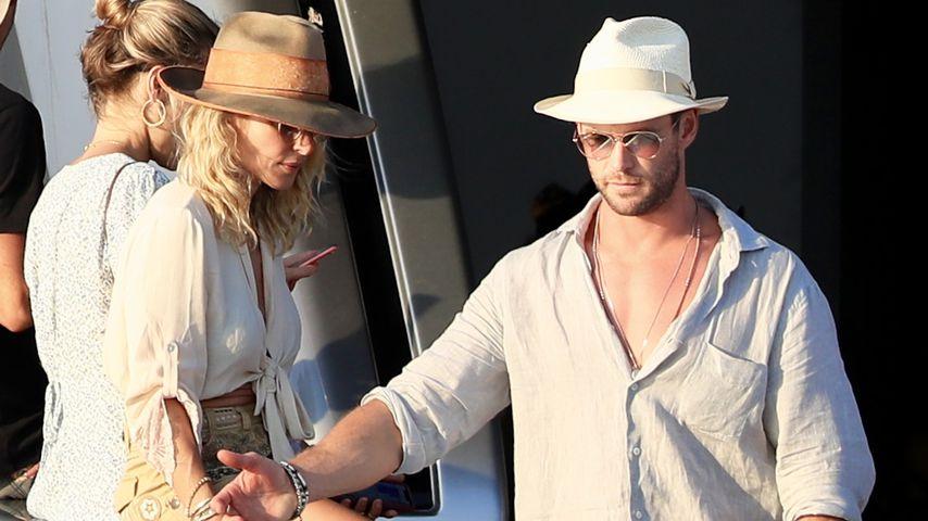 Elsa Pataky und Chris Hemsworth auf Ibiza