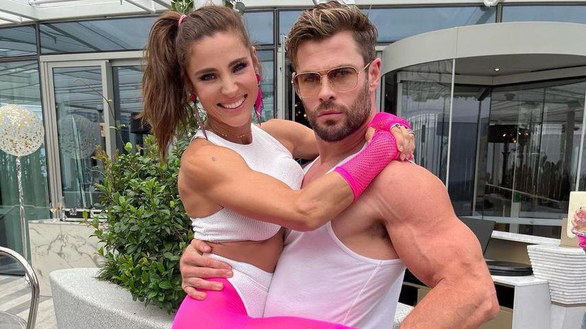 Elsa Pataky und Chris Hemsworth im Februar 2021