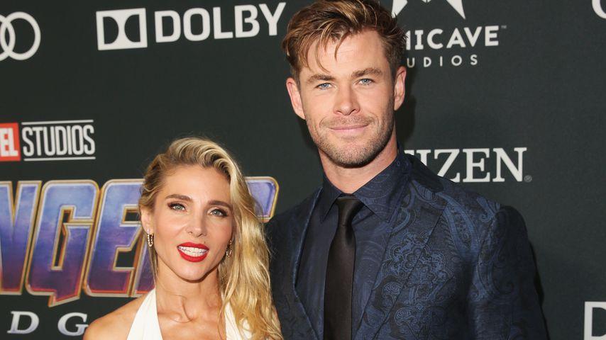 "Elsa Pataky und Chris Hemsworth bei der ""Avengers: Endgame""-Premiere 2019"