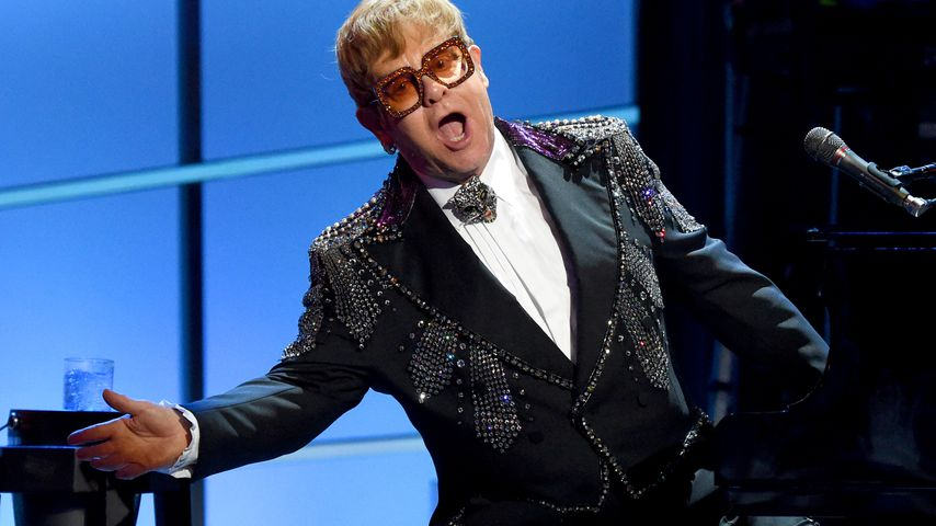 Elton John im Januar 2018 in New York