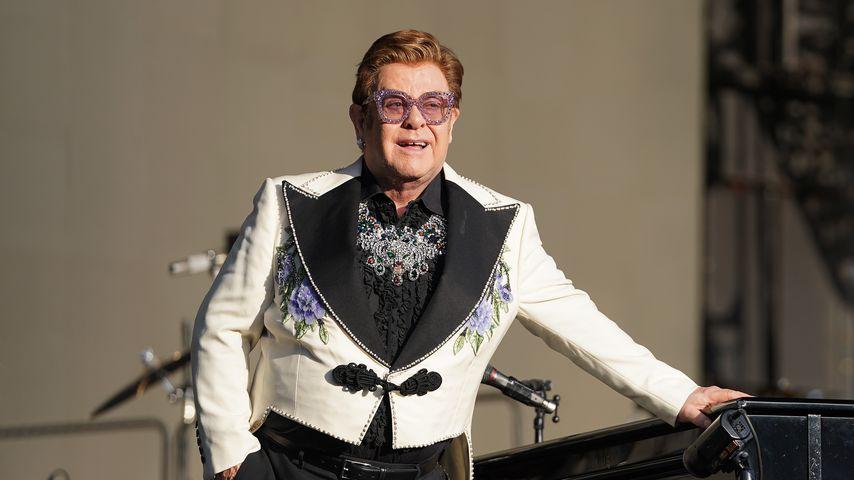 Elton John hatte im Lockdown große Angst vor Alkoholrückfall