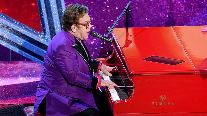 Elton John bei den Oscars, 2020