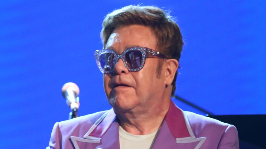 "Elton John bei der ""Midsummer Party"" in Antibes, 2019"