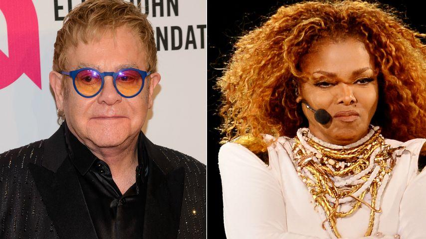 """""""Lieber eine Dragqueen""""! Elton John disst Janet Jackson"""