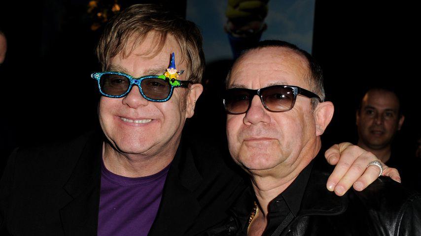 Elton John und Songwriter Bernie Taupin
