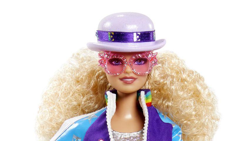Elton Johns personalisierte Barbie-Puppe