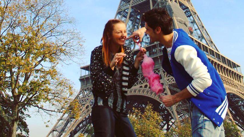 Emanuela Rei und Sergio Ruggeri in Paris