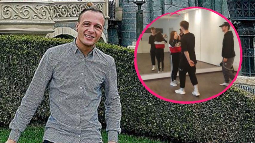 Emil Kusmirek überrascht Tanzschülerin mit Lochi-Besuch!