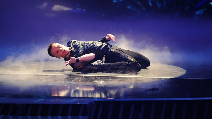 """Emil Kusmirek beim Halbfinale von """"Das Supertalent"""" 2012"""