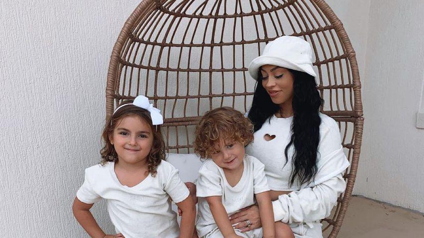 Emilee Hembrow (r.) mit ihren Kids