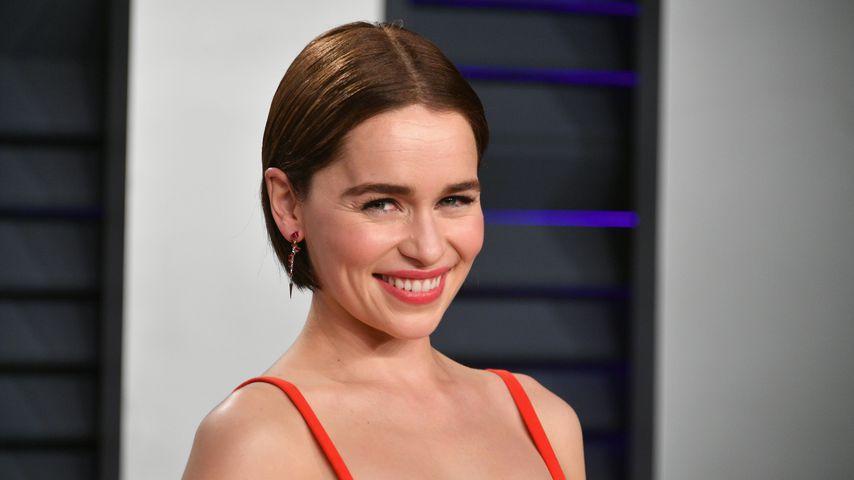 Emilia Clarke bei der Vanity Fair Oscar Party 2019