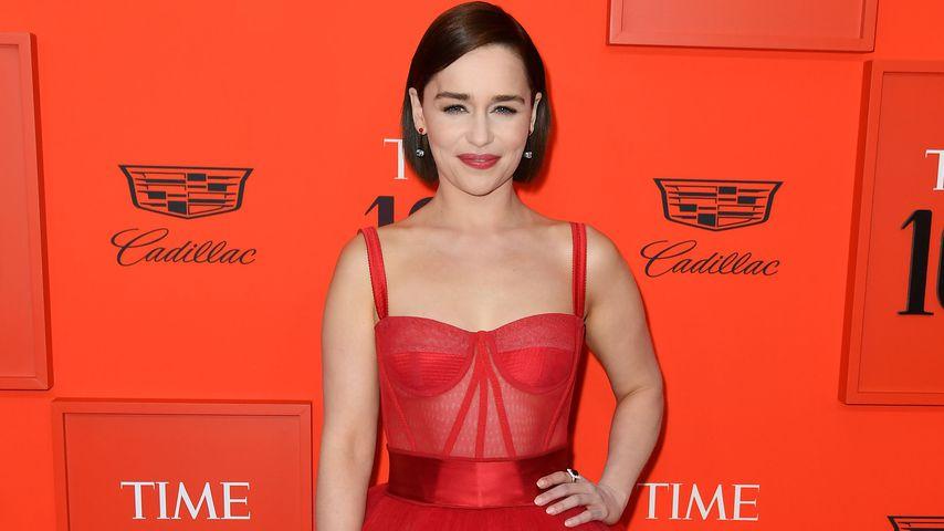 Emilia Clarke bei der Time 100-Gala in New York, April 2019