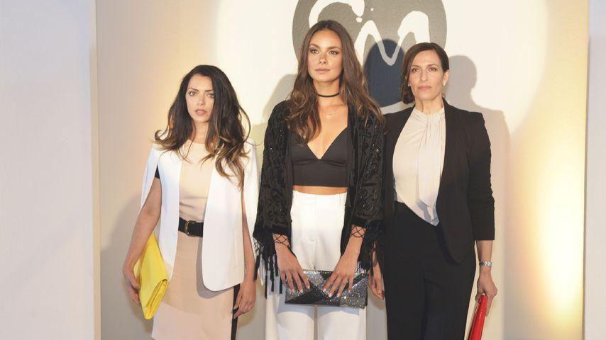Emily (Anne Menden), Jasmin (Janina Uhse) und Kathrin (Ulrike Frank)