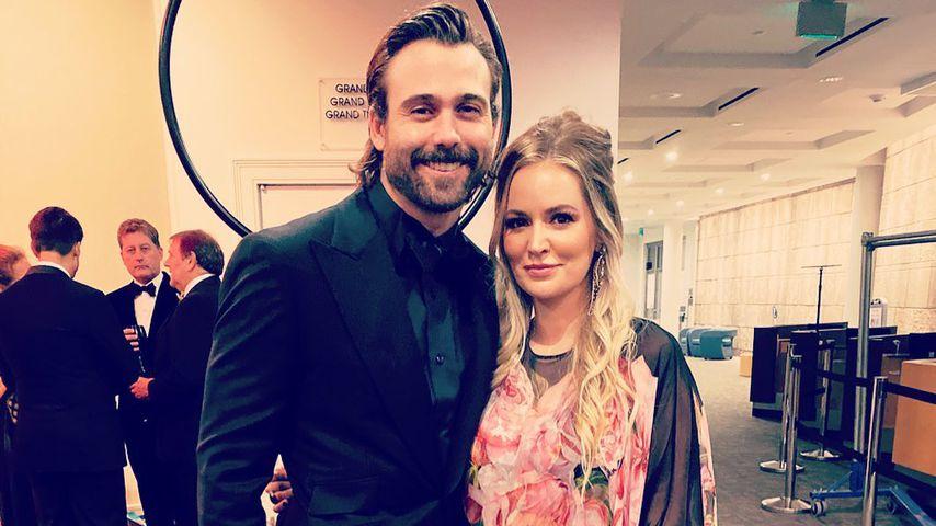 Emily Maynard Johnson und ihr Mann Tyler im Februar 2019 in Charlotte, North Carolina
