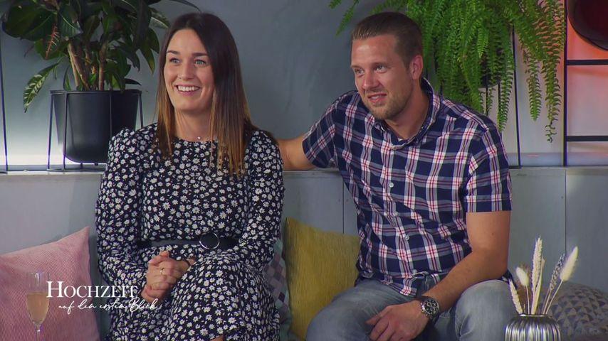 """Emily und Robert bei """"Hochzeit auf den ersten Blick"""""""