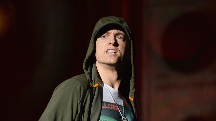 Eminem bei einem Auftritt in Chicago