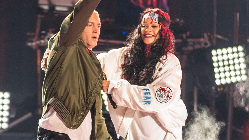 Eminem und Rihanna bei den MTV Movie Awards 2014