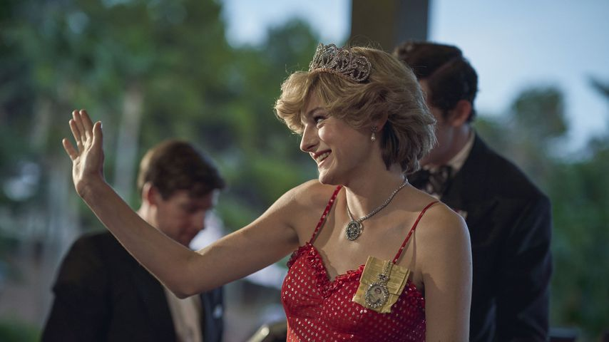"Emma Corrin als Prinzessin Diana in ""The Crown"""