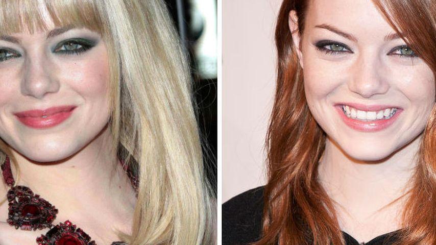 Emma Stone: Lieber blonde oder rote Haare?