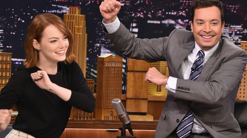 Jimmy Fallon und Emma Stone
