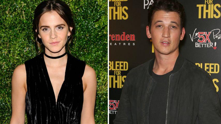 """Wegen """"La La Land"""": Emma Watson & Miles Teller total sauer!"""