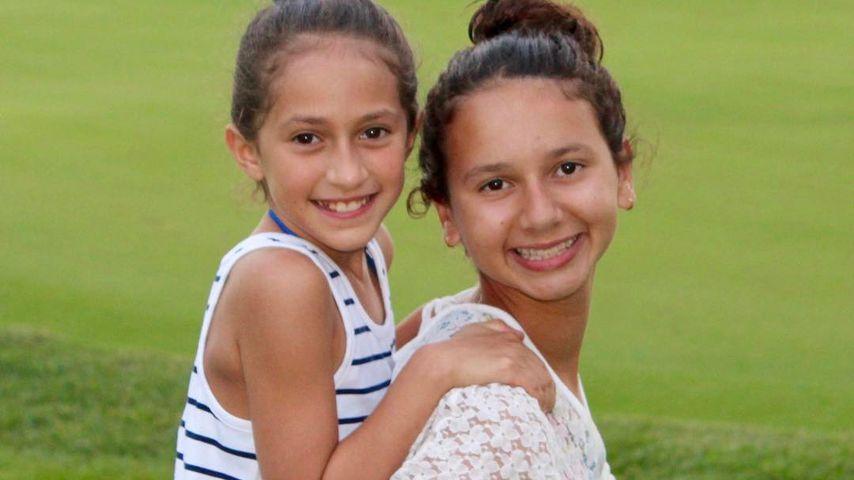 Wie Twins: J.Los & A-Rods Töchter könnten Geschwister sein!