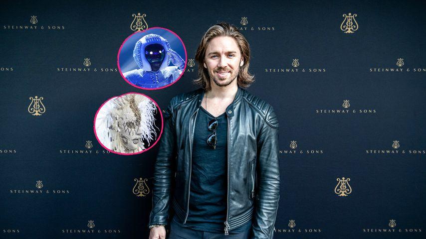 Engel und Astronaut: Gil wusste sofort, wer dahintersteckt