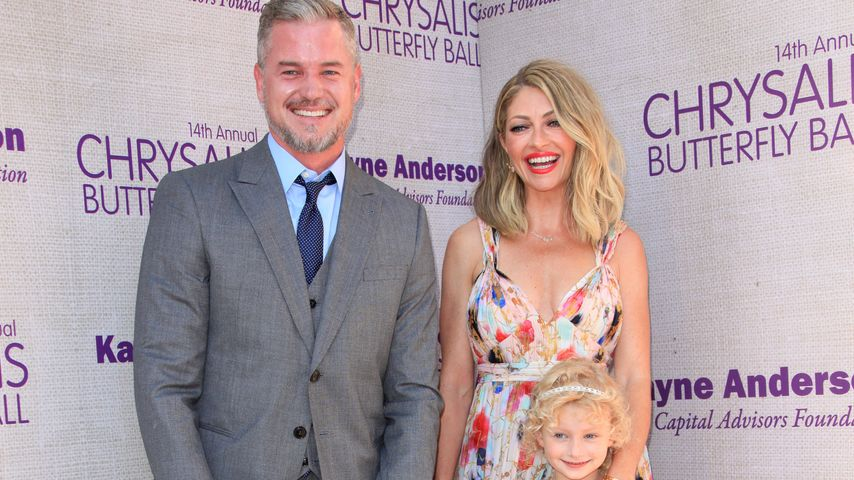 Mc Sexy! Eric Dane mit seinen blonden Engeln
