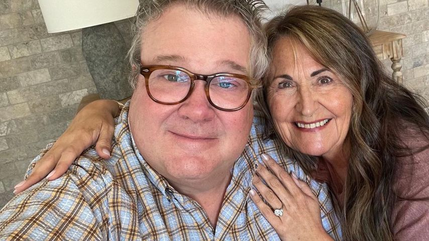 Schauspieler Eric Stonestreet mit seiner Verlobten Lindsay Schweitzer