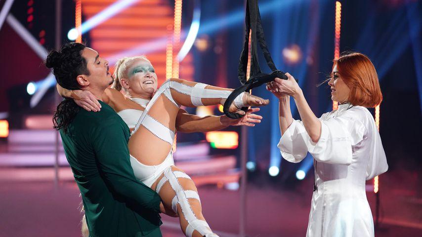 """Erich Klann, Anne-Marie Kot und Oana Nechiti bei """"Let's Dance"""""""