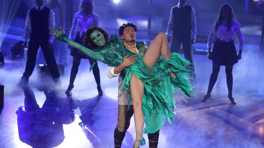 """Erich Klann und Judith Williams bei ihrem Freestyle im """"Let's Dance""""-Finale"""