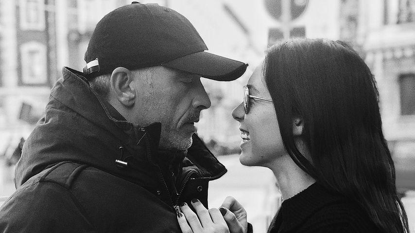 Eros und Aurora Ramazotti, Vater und Tochter