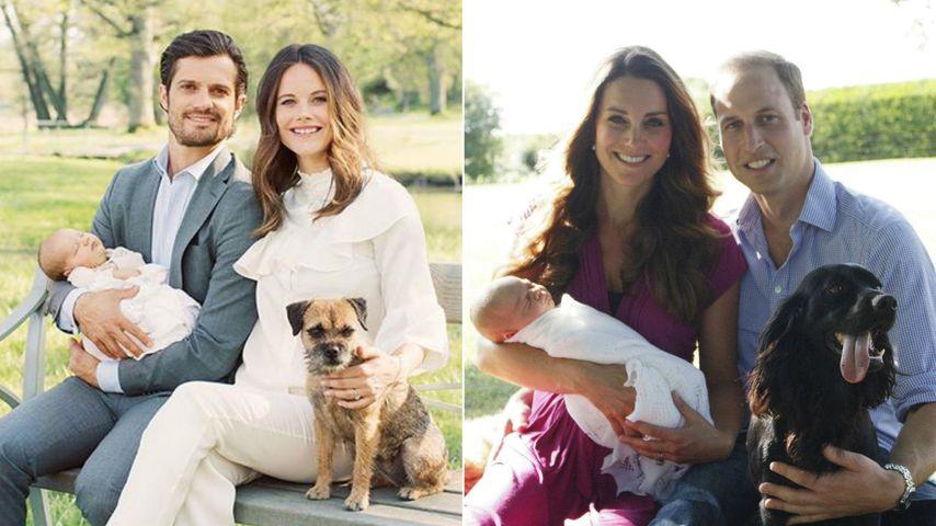 Tierisch ähnlich! Schweden-Royals klauen bei William & Kate