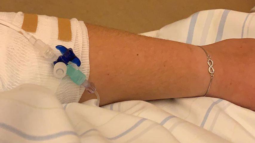 Estefania Wollny im Krankenhaus
