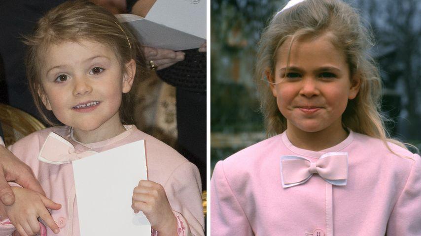 So süß: Prinzessin Estelle trug Jacke ihrer Tante Madeleine!