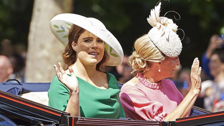 Prinzessin Eugenie und Gräfin Sophie von Wessex bei Trooping the Colour 2018