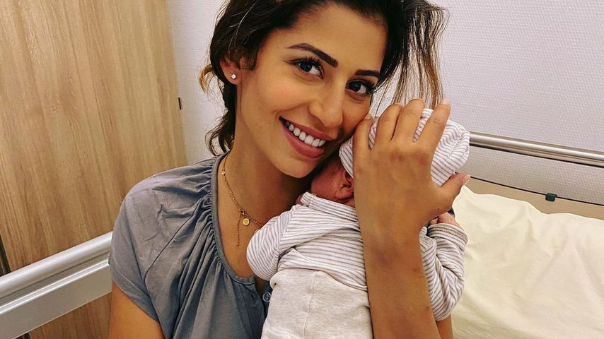 Eva Benetatou mit ihrem Sohn George Angelos