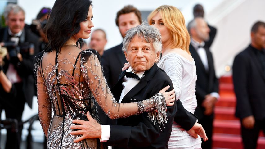 Eva Green, Regisseur Roman Polanski und Emmanuelle Seigner auf dem 70. Filmfestival in Cannes