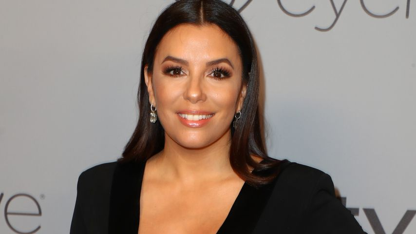 Eva Longoria bei den Golden Globes 2018 in Beverly Hills