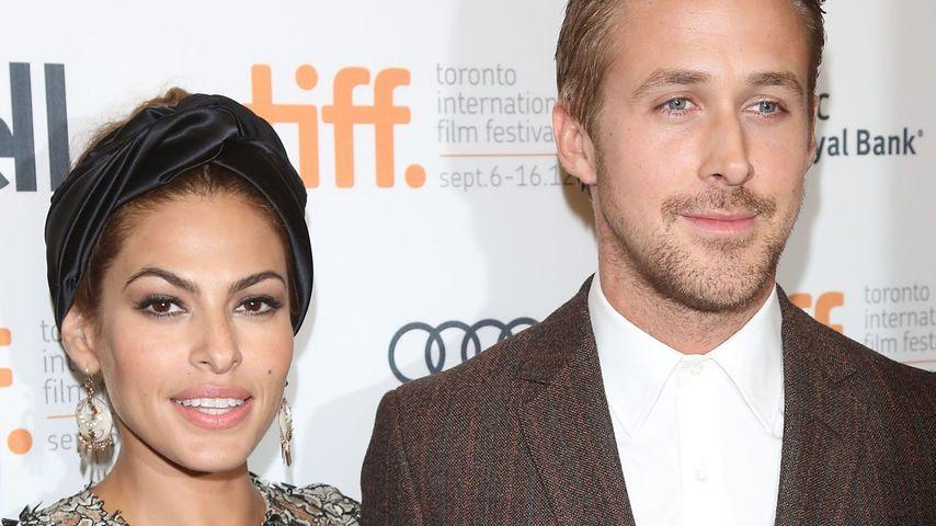Keine Baby-Nanny: So normal sind Eva Mendes & Ryan Gosling