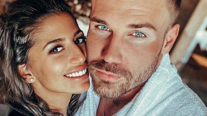 Eva Benetatou und ihr Verlobter Chris