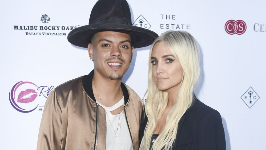 Evan Ross und Ashlee Simpson in Los Angeles