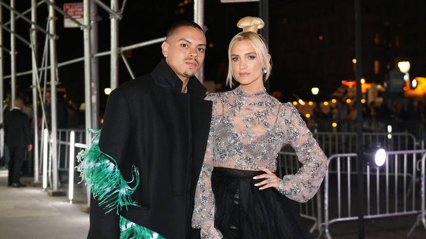 Evan Ross und Ashlee Simpson bei einem Event in New York City
