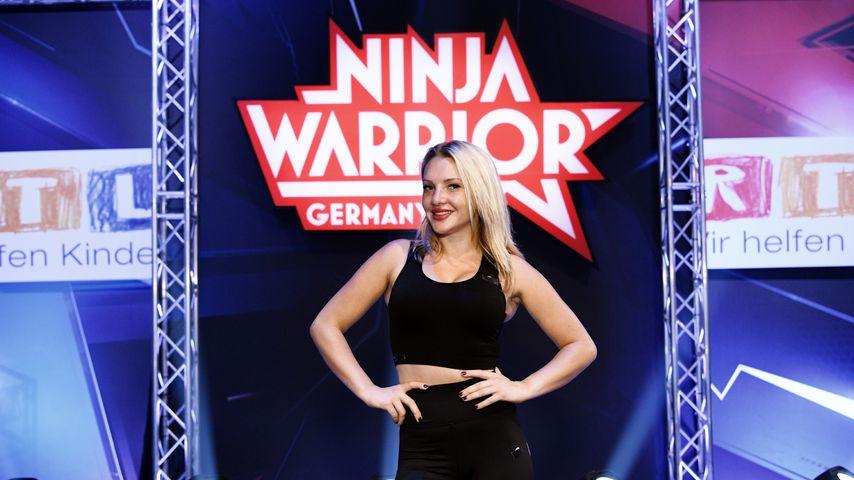 "Evelyn Burdecki beim ""Ninja Warrior Germany - Promi-Special"", 2019"
