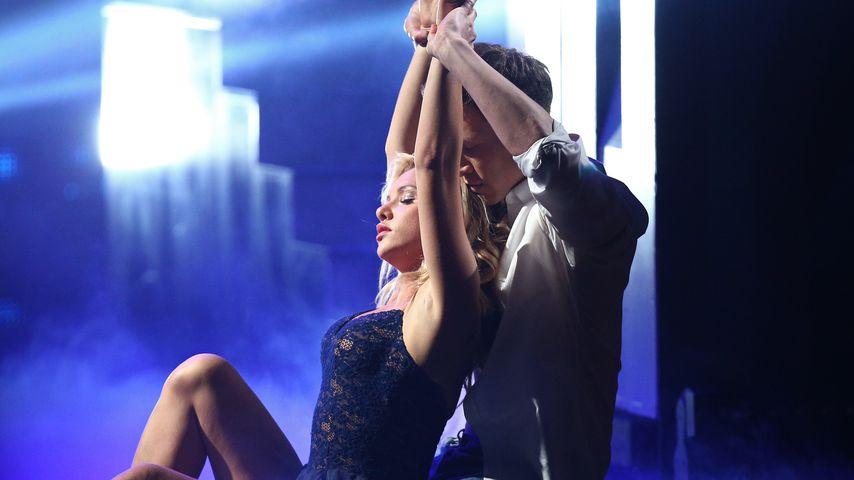 "Evelyn Burdecki und Evgeny Vinokurov, ""Let's Dance""-Tanzpaar"