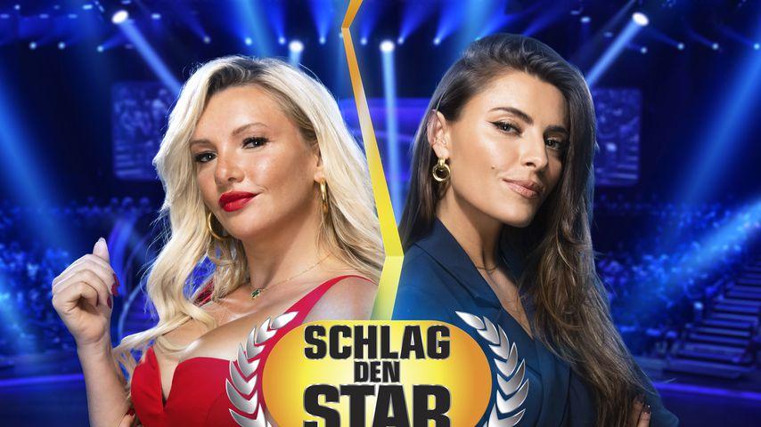 """Evelyn Burdecki und Sophia Thomalla bei """"Schlag den Star"""""""