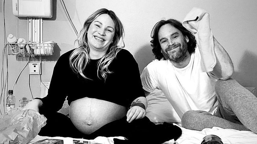 Süße Baby-Bilder: Neu-Mama Evelyn Weigerts Geburtsbericht