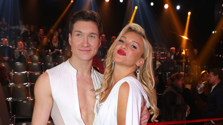 Evgeny Vinokurov und Evelyn Burdecki